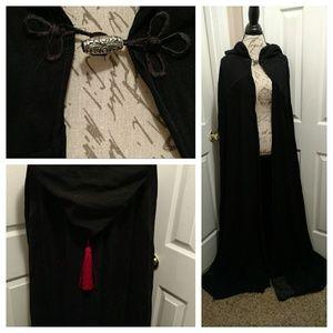 Jackets & Blazers - 👉Beautiful hand made black cloak/cape👈